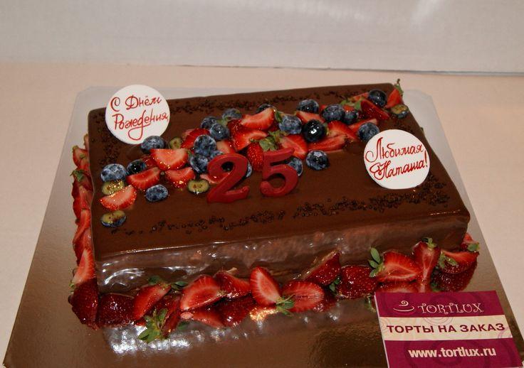 Торт на 25-летний юбилей.Вес 3 кг.