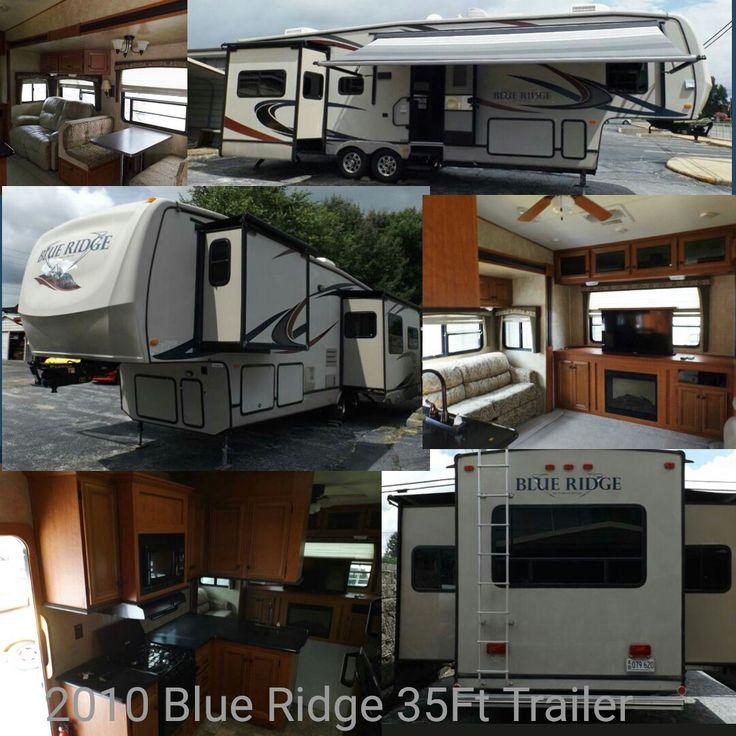 For Sale: 2010 Blue Ridge by Forest River 35Ft 5th wheel travel trailer. $25,500.00 www.highcountrymotors.net