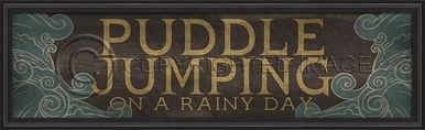 Artwork Puddle Jumping New SC-706