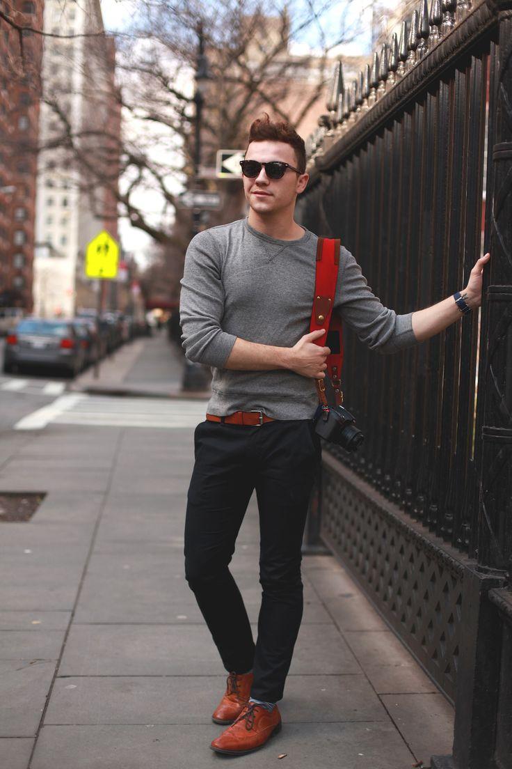 Bullhead Chino / J.Crew Sweater  / Apt. 9 Shoes / Pact Socks / Warby Parker Sunglasses / H Belt / Timex Watch / Holdfast Camera Strap