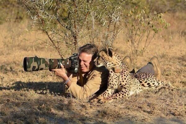 Ricky Gervais Shows How Real Men Shoot Animals via ecorazzi: Take a picture not a trophy  #Animal_Rights #Photography