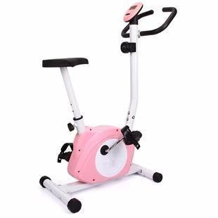 Bicicleta Fija Magnetica Spinning Deluxe Con Pantalla  Digtal E85030 --- Rosa  Ejercicio cardiovascular en una bicicleta de alta calidad. Disfruta de los beneficios que te da el tener una bicicleta fija en casa. Un excelente ejercicio cardiovascular, el cual brinda beneficios directos a tu corazón, además de tonificar la parte baja de tu cuerpo, quemar calorías, y mantenerte en forma, todo esto, desde la comodidad de tu casa. Cuenta con una computadora digital.