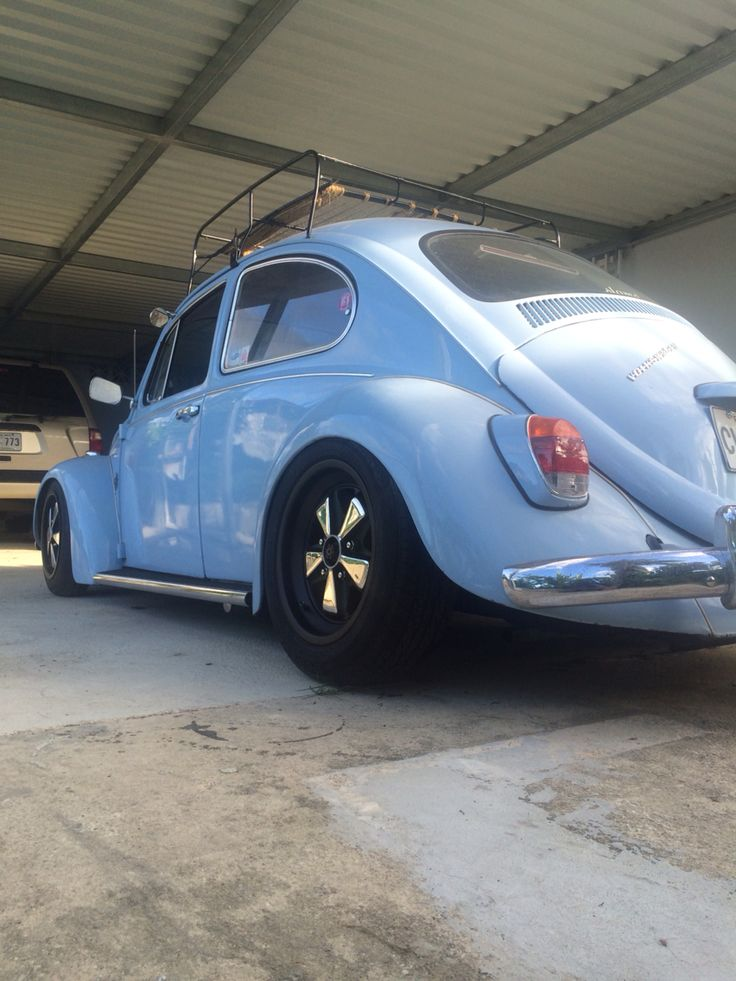 Bug low and slow stance staggered porsche fuchs