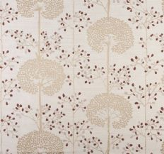 Prestigious Textiles Moonseed Fabric - Cranberry 1473/316