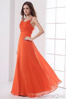 Burnt Orange Bridesmaid Dresses - B1223