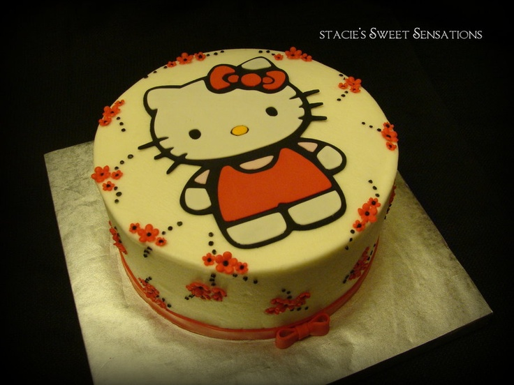 10 best Hello kitty cake images on Pinterest