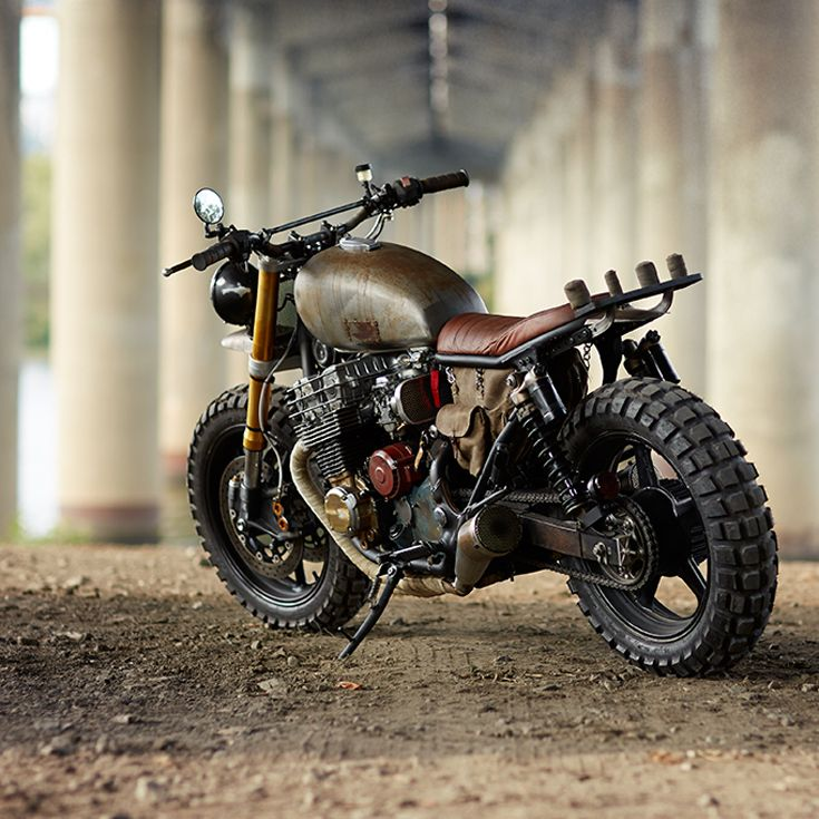 It may be all over for The Walking Dead, but you can still take a real close look at Daryl Dixon's motorcycle. We've got the full story behind the design and build (plus lots more shots) at http://www.bikeexif.com/daryl-dixon-motorcycle