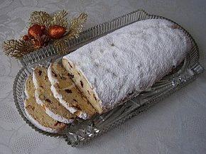 Tvarohová vianočná štóla - obrázek