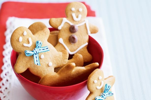 Karácsonyi gyömbéres sütike, fincsi és jól is mutat