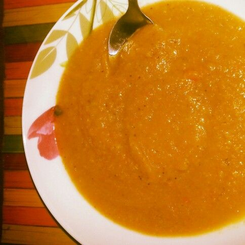 Vegetable soup - Passato di verdure