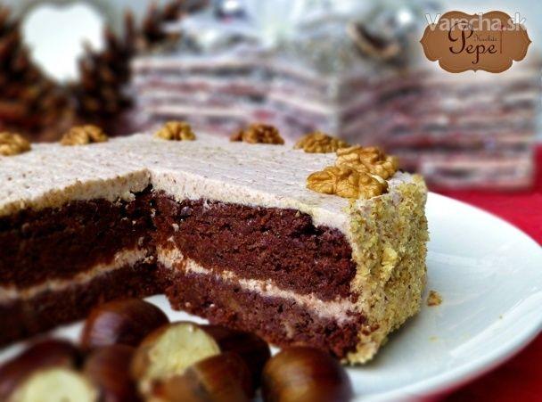 Bezmúčna vianočná torta - Recept