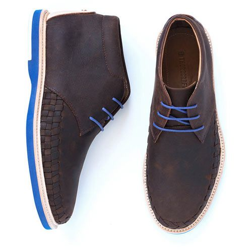 Modern, Handcrafted Shoes for Men from Thorocraft. The Roman in dark brown