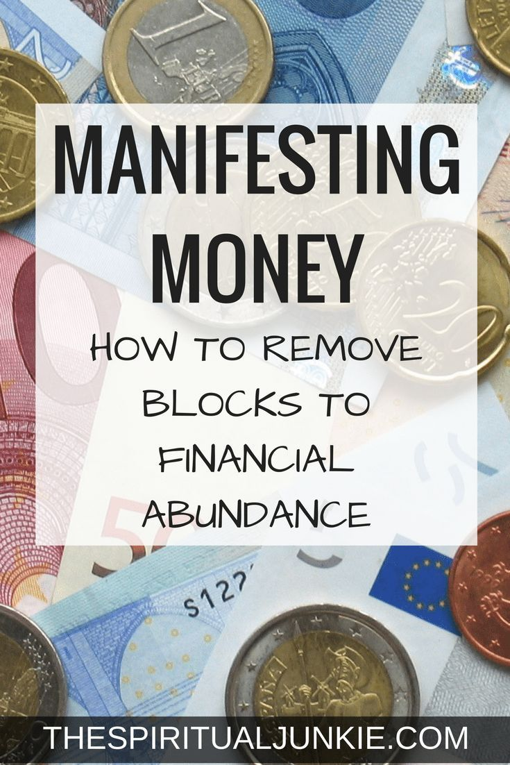 How to Attract Money: Removing Blocks to Financial Abundance