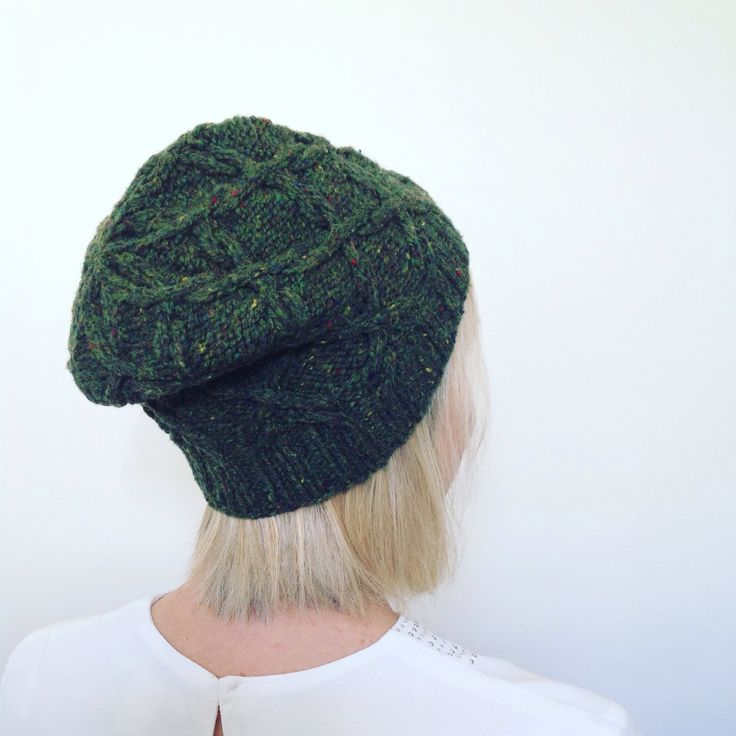 So happy with my Scrollwork hat  knitted in Brooklyn Tweed Shelter Birdbook