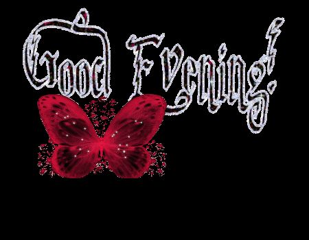 good morning animated glitter graphics | http://www.glitters123.com/good-evening/good-evening-glitter/