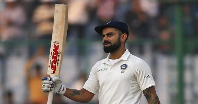 Virat Kohli has become the second Indian batsman after Sunil Gavaskar to reach the 900-point mark in the rankings for Test batsmen, the International Cricket Council (ICC) announced on Thursday.