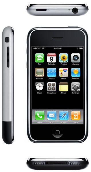 iPhone 1st generation - Launched in 2007, 7 years after the first SmartPhone. It's innovation wasn't the technology... it was it's design.
