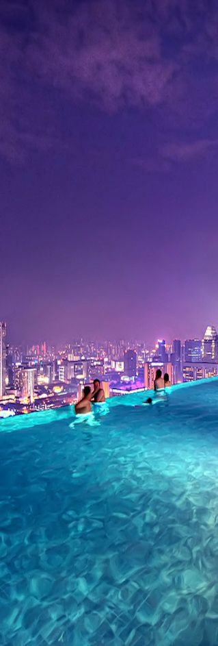 6 Infinity Pools You'd Rather be swimming in tropical seaside