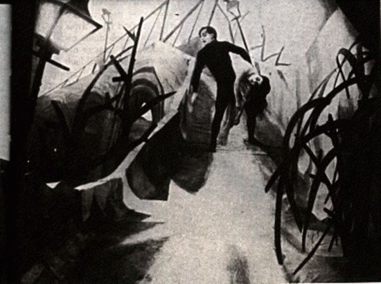 German expressionist style in the cabinet of dr caligari essay
