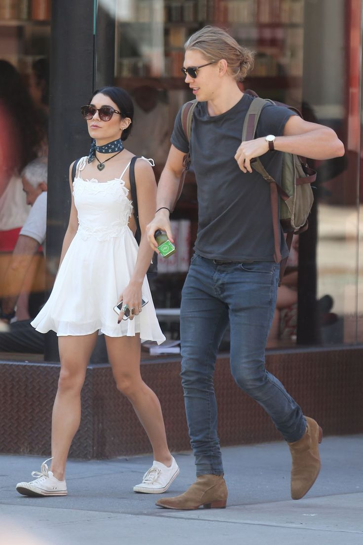 VANESSA HUDGENS and Austin Butler Out in New York 06/24 ...