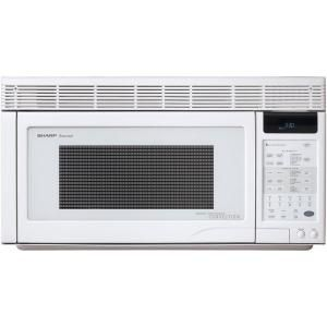 Sharp 1.1 cu. ft. Over-the-Range Convection Microwave in White-R1871T at The Home Depot $449