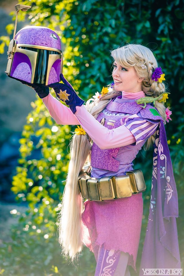 Star Wars Rapunzel, Maid of Might Cosplay, photo by # ...