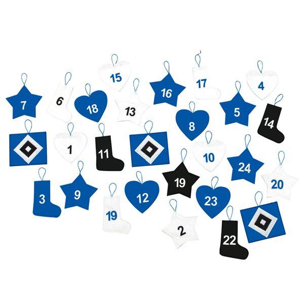Für Fans des HSV gibt es einen einfachen Hamburger SV Bundesliga Adventskalender mit Alpenmilchschokolade und auch einen HSV Adventskalender zum Selberbefüllen.