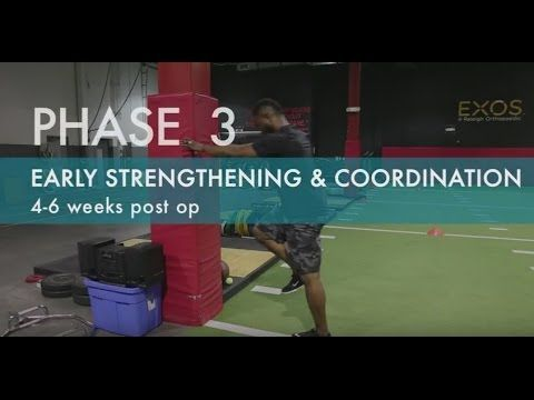 Best ACL Exercises   How to Recover From ACL Reconstruction Surgery   Phase 2 - YouTube