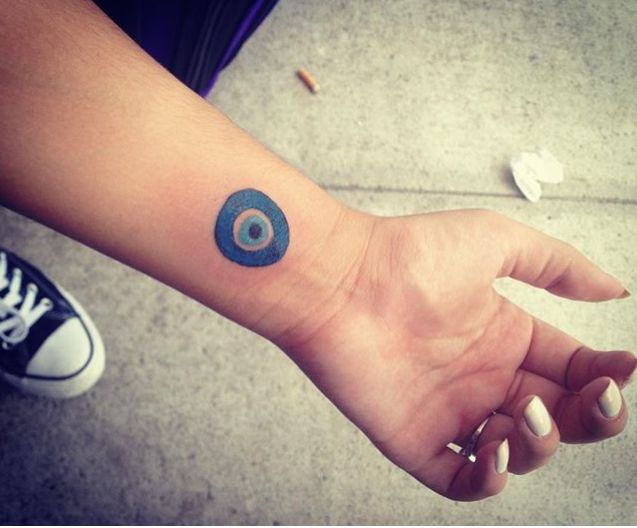 evil eye tattoo found on Instagram via @crmihail