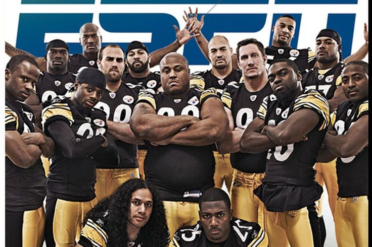 Throwback Thursday: 2008 Steelers defense immortailized on ESPN The Magazine - Behind the Steel Curtain