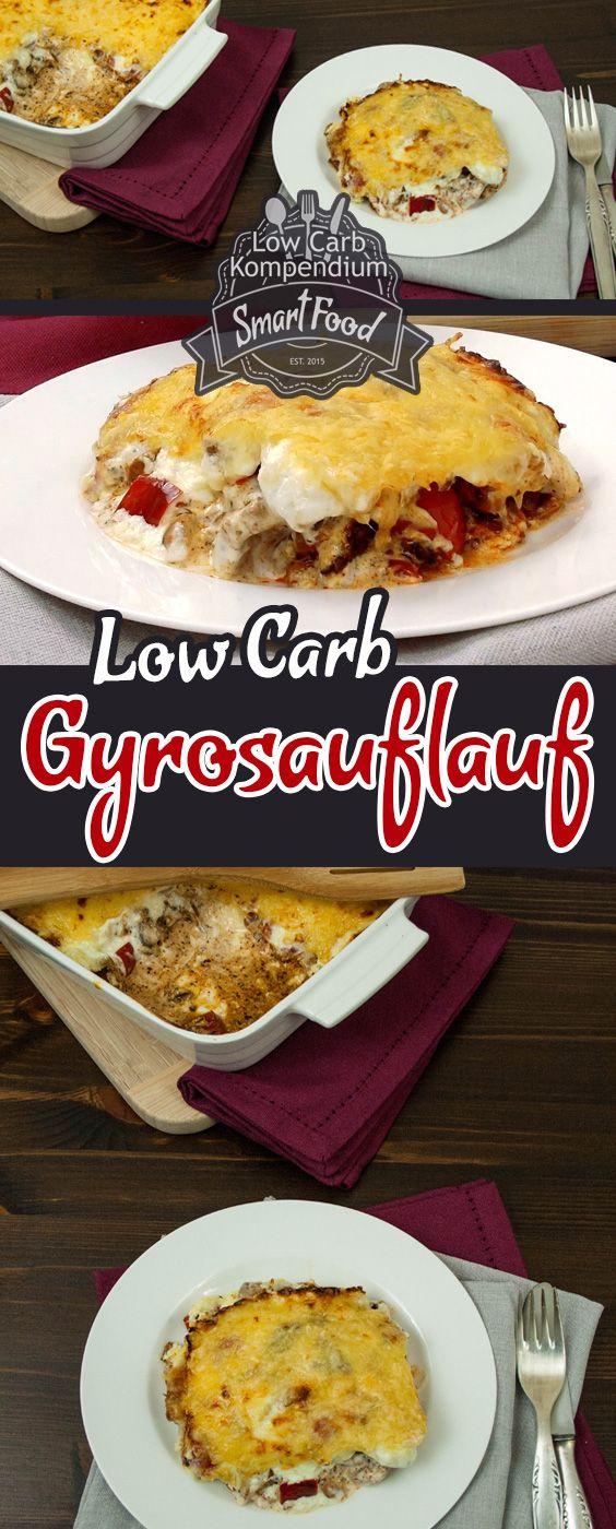 Eine würzig-leckere Kombination aus Gyros und Auflauf. Dieses Low Carb Gericht ist schnell zubereitet und begeistert Klein
