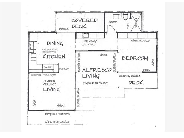 Small cottage floor plans with conservatory google for Granny cottage plans