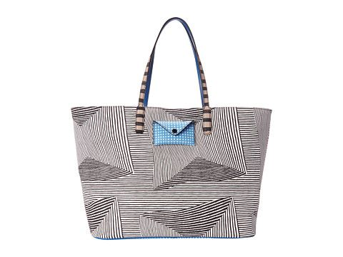 Marc by Marc Jacobs Marc by Marc Jacobs  Metropoli Optical Stripe Travel Tote Tote Handbags for 179.99 at Im in! #sale #fashion #I'mIn