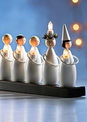 Lucia-kulkue kynttelikkö
