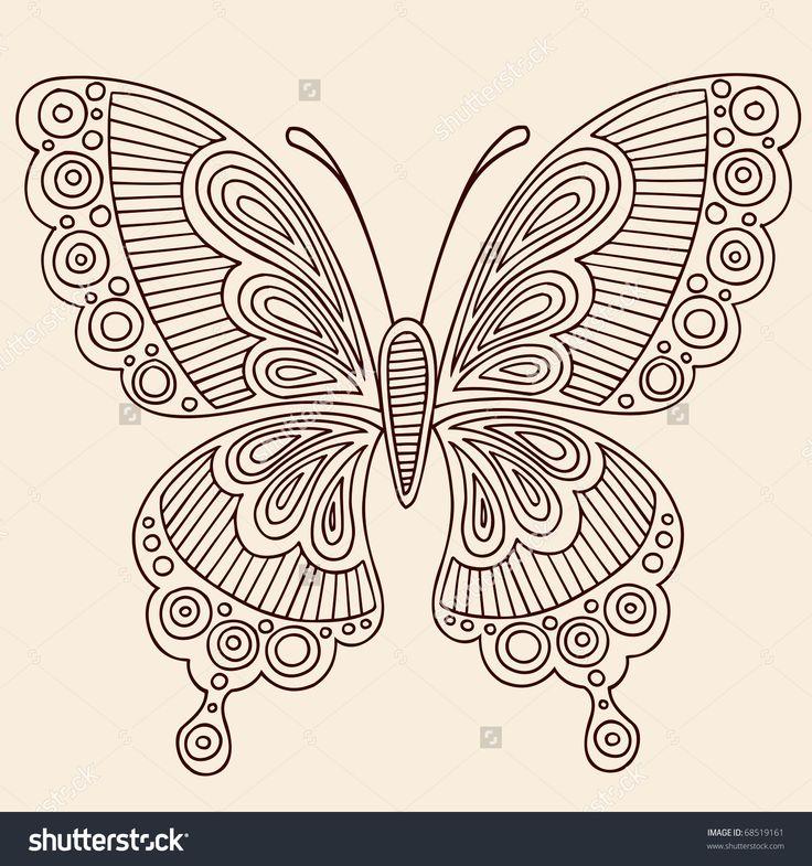 мехенди бабочка - Поиск в Google