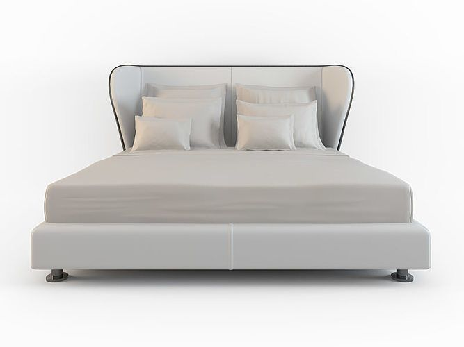 bed rea 3d model max 2 床台 in 2019 Bed, Bed