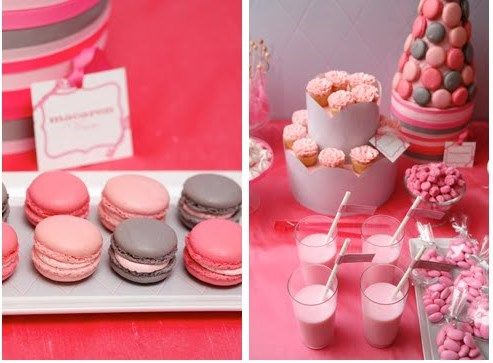 Macaroon heaven: Valentines Day Desserts4, Crafts Ideas, Goodies Ideas, Valentine'S S, Colors Palettes, Macaroon, Macaroons Heavens, Valentines Desserts, Desserts Tables