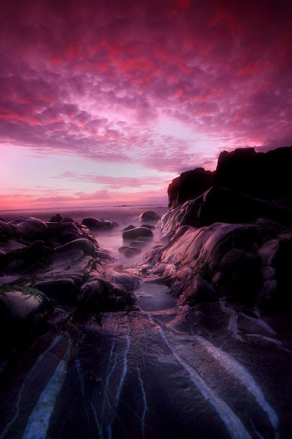 Sunset at Turnberry Resort, Scotland