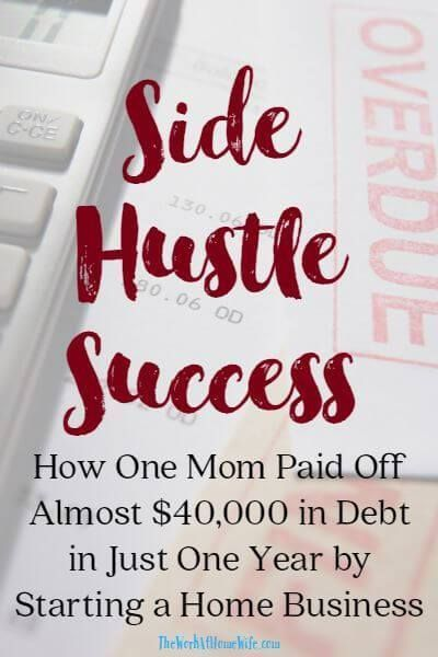 425 best pay off debt i credit cards images on pinterest personal learn how this mom paid off almost 40000 in student loan debt by starting a home reheart Image collections