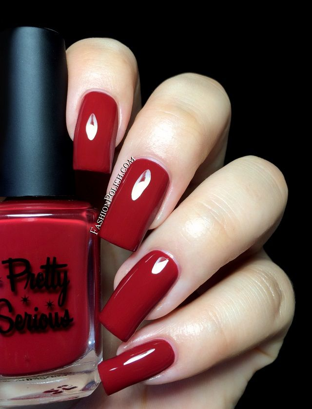 Fashion Polish: Pretty Serious Pinup Perfection collection review! (Looks that Kill)