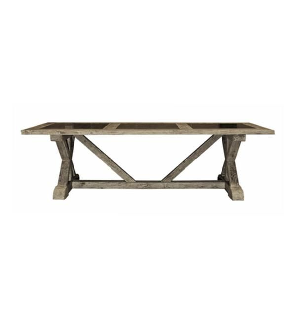 Email interiorworx@xtra.co.nz to purchase BLUE STONE TOP DINING TABLE