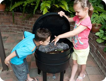 What's In a Can O Worms Composter?