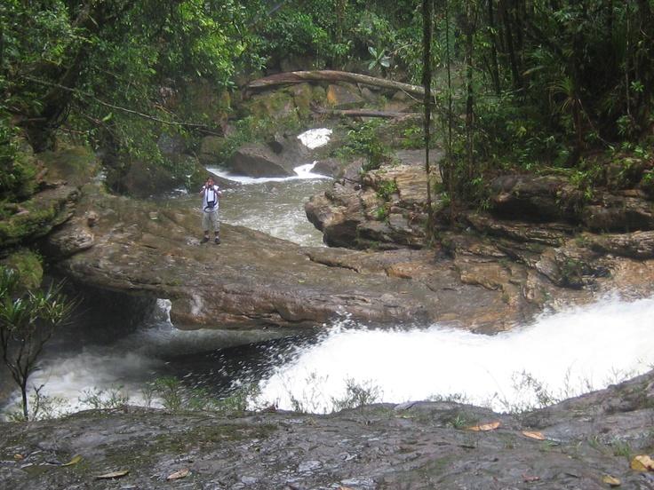 Puente natural en roca - Fin del mundo - Mocoa - Putumayo
