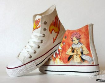 fairy tail converse – Etsy CA >>>> I need these...