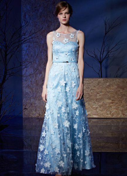 10 Best ideas about Blue Evening Dresses on Pinterest - Ball ...