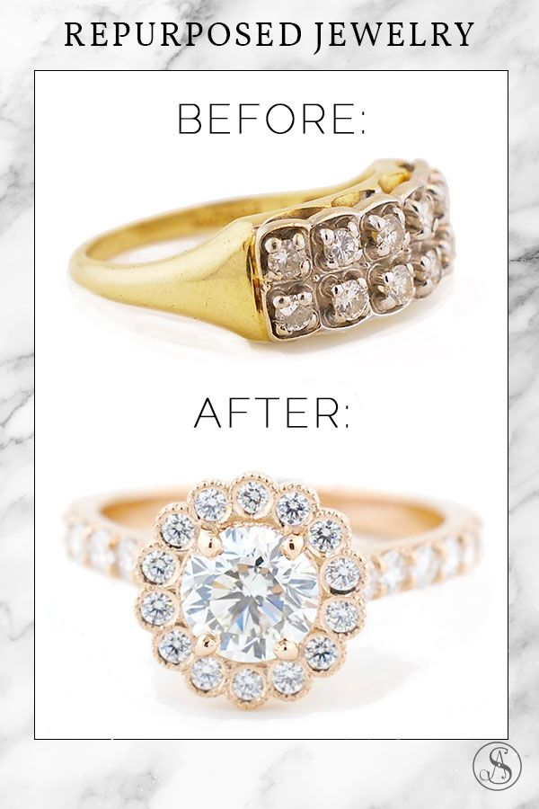 Heirloom Jewelry Redesign Custom Engagement Rings Custom Ring Design Heirlooms Jewelry Jewelry Custom Ring Designs