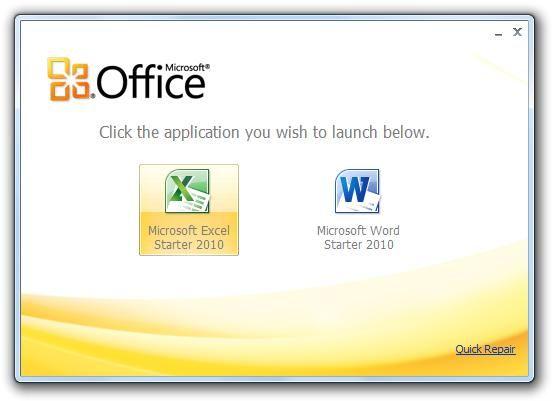 Office 2010 starter gratis con Word e Excel in italiano http://www.sapereweb.it/office-2010-starter-gratis-con-word-e-excel-in-italiano/         AGGIORNAMENTO: Segui la nuova guida per l'installazione su Windows 8.1 Sui nuovi PC OEM, quelli che hanno già Windows ed alcuni programmi pre-installati, che si comprano nei centri commerciali e nei negozi di computer, si dovrebbe trovareMicrosoft Office Starter 2010, una v...