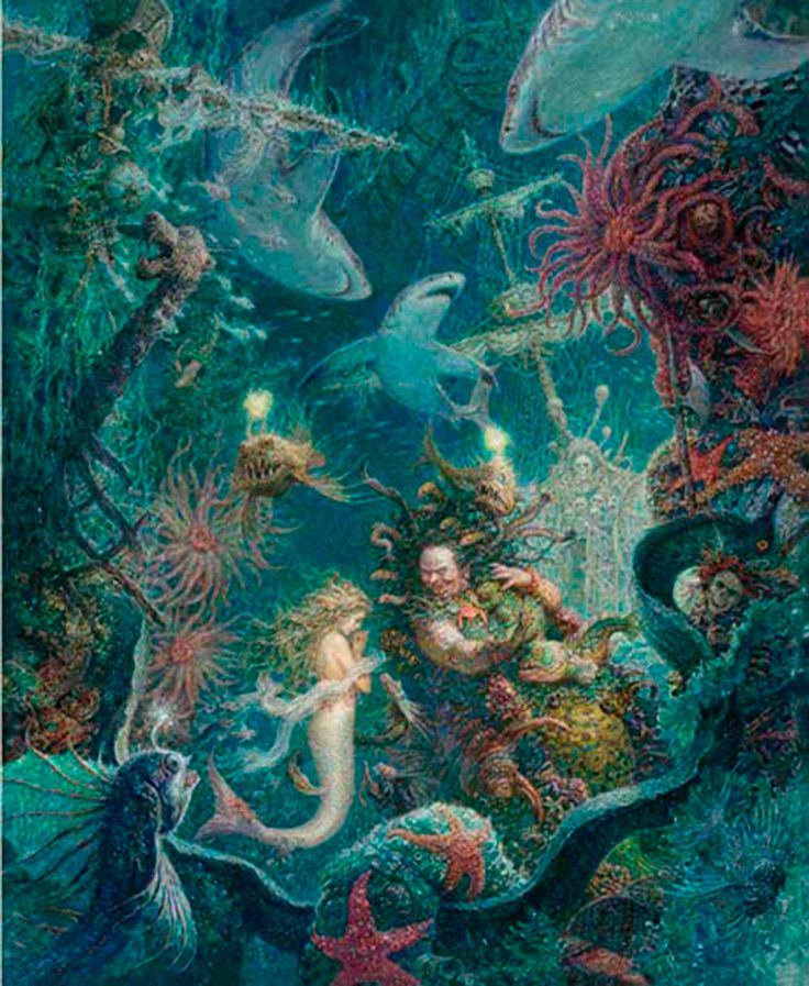 Image result for little mermaid hag