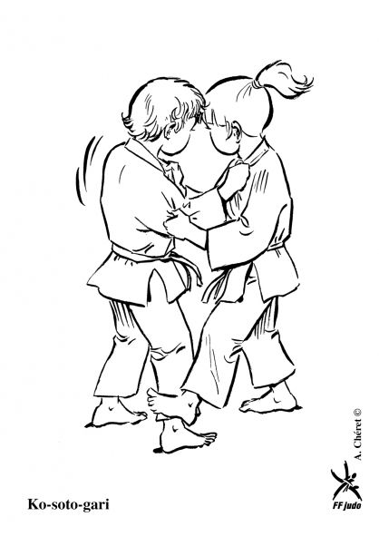 12 best Karate coloring pages images