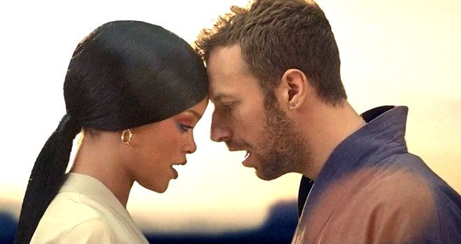 Coldplay and Rihanna- Princess of China